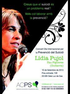 Concert dia internacional per a la prevenció del suïcidi